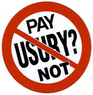 Pay Usury Not